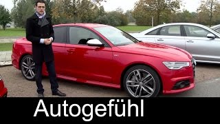 2015/2016 Audi S6&Audi A6 Facelift Test Drive REVIEW Sedan&Avant - Autogefühl