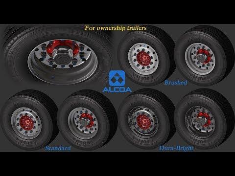 Abasstreppas wheelpack for ownership trailers v1.0 1.33.x