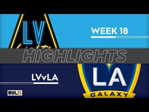 Las Vegas Lights - LA Galaxy 2 2:2. Видеообзор матча 05.07.2019. Видео голов и опасных моментов игры