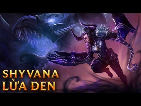 Shyvana Lửa Đen - Darkflame Shyvana