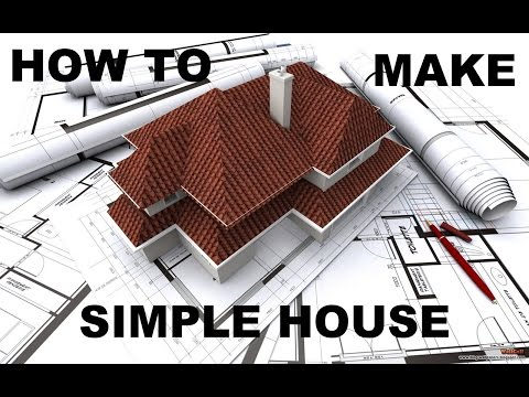 SketchUP Pro 2013 : How to make simple house.