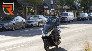 2. Honda PCX150 Scooter First Test Review Video | Riders Domain