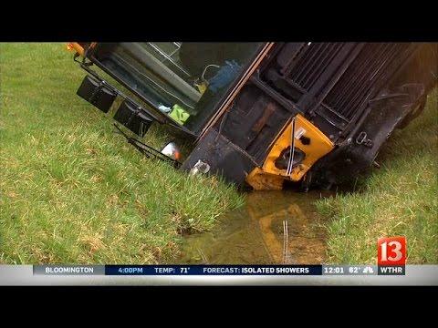 Franklin Township school bus crash: Noon