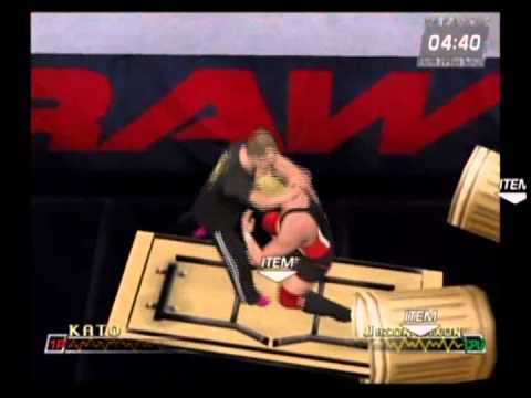 Kato Vs. Jason Dixon - WWE Raw 2 - Hardcore