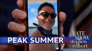 Video How To Know When Stephen Colbert Enters 'Full Summer Mode' MP3, 3GP, MP4, WEBM, AVI, FLV Juli 2019
