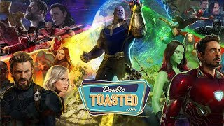 AVENGERS INFINITY WAR OFFICIAL MOVIE TRAILER REACTION - Double Toasted