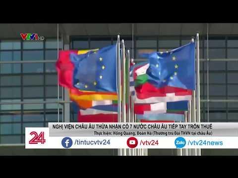 EU tiết lộ: có 7 quốc gia khối này tiếp tay cho trốn thuế   VTV24 - Thời lượng: 66 giây.