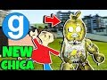 Brand New FNAF Tattered Chica is Playtime From Baldi's Gmod FNAF Sandbox Funny MomentsGarry's Mod