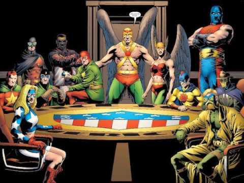 Character Corner: The  Justice Society Of America - The First Superhero Team