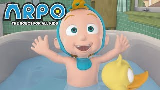 Video ARPO The Robot For All Kids - Bath time Blues | Full Episode | Videos For Kids Videos For Kids MP3, 3GP, MP4, WEBM, AVI, FLV Mei 2019