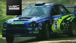 FIA World Rally Championship - Neste Rally Finland 2001P2 - Richard Burns / Robert Reid (Subaru WRT)► Watch Rally Finland 2017 live on http://www.wrcplus.com► More WRC Videos: http://goo.gl/kKumd8► Official Website WRC.com: http://goo.gl/2b0WzESubscribe to WRC Youtube: http://goo.gl/W238zSubscribe to WRC Newsletter: http://goo.gl/yyeVLyWRC on Facebook: https://goo.gl/vR0WnXWRC on Twitter: https://goo.gl/cSzRqUWRC on Instagram: https://goo.gl/YJMj3u