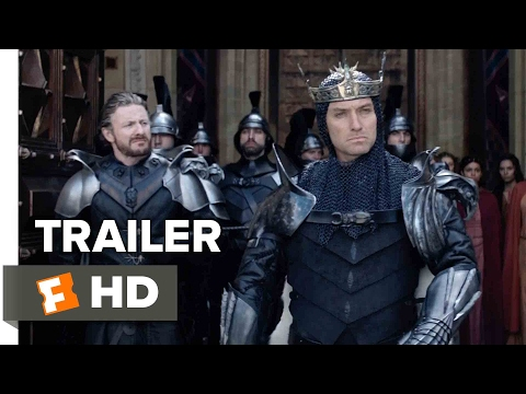 King Arthur: Legend of the Sword Trailer #1 | Movieclips Trailers (видео)