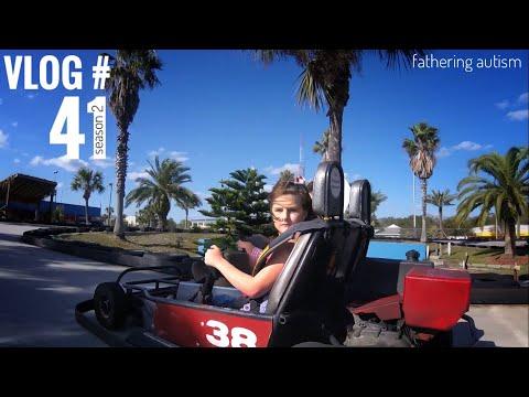 Autism Family Fun At Adventure Landing  Fathering Autism Vlog