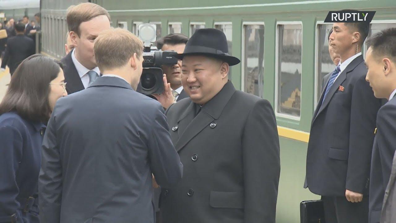 Έφτασε στο Βλαδιβοστόκ ο βορειοκορεάτης ηγέτης Κιμ Γιονγκ Ουν