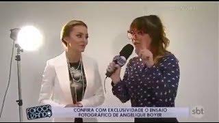 """FOFOCALIZANDO - """" Valentina """" faz entrevista com """" Angelique Boyer """" SBT 2017"""