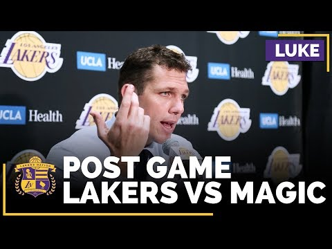 Video: Luke Walton Explains Why Julius Randle Didn't Play Much Late In The Game