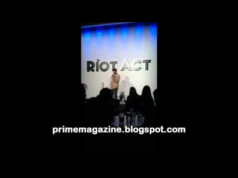 Jay Phillips at Riot Act, DC -
