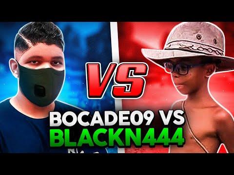 BLACKN444 VS BOCADE09! O X1 MAIS ENGRAÇADO FREE FIRE