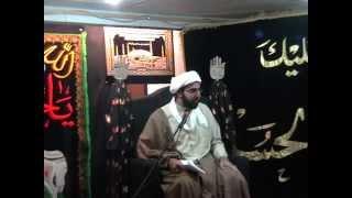 03 - Sheikh Muhammed Reza Tajri 3rd Muharram 1436 Jafaria Foundation, Dalkeith, Midlothian