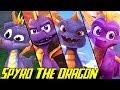Evolution Of Spyro 1998 2018