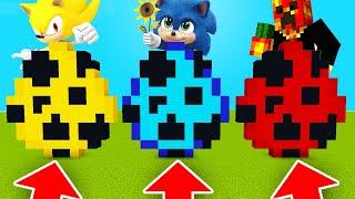 Minecraft PE : DO NOT CHOOSE THE WRONG SPAWN EGG! (Baby Sonic, Super Sonic & PrestonPlayz)