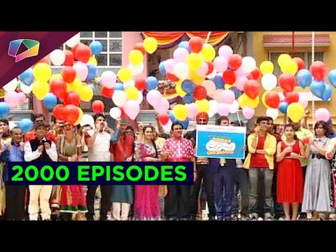 Tarak Mehta.. finishes 2000 Episodes of making us