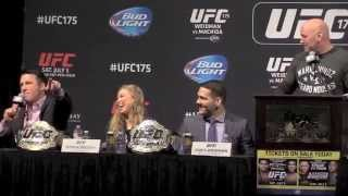 International Fight Week: UFC 175 and TUF 19 Finale Press Conference (FULL)
