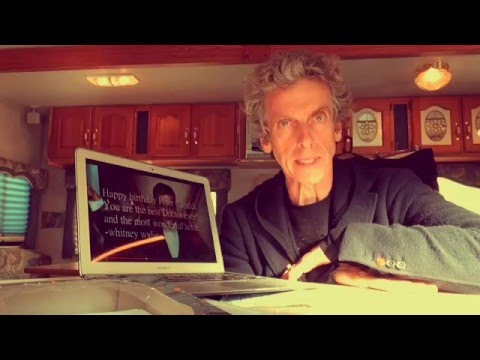 Watch Peter Capaldi Thank Fifty Fans for Birthday Wishes