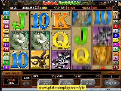 Mega Moolah progressive jackpot - online casino