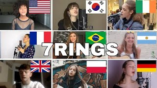 Who Sang It Better : Ariana Grande - 7 Rings (us,uk,germany,brazil,poland,argentina,france )