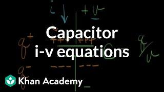 Capacitor i-v equations