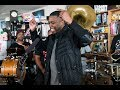 GZA & The Soul Rebels: NPR Music Tiny Desk Concert