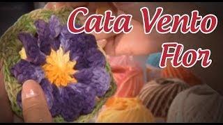 Flor Cata Vento Em Crochê (passo A Passo) - Cristina Luriko