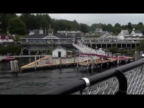 MV MOUNT WASHINGTON, WEIRS BEACH, NEW HAMPSHIRE (видео)