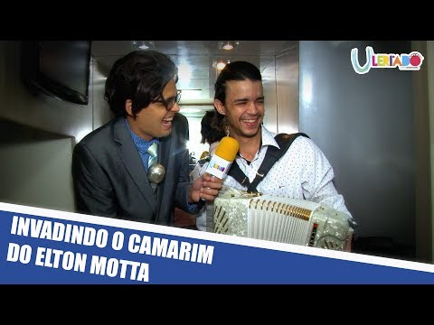 INVADINDO O CAMARIM DO ELTON MOTTA
