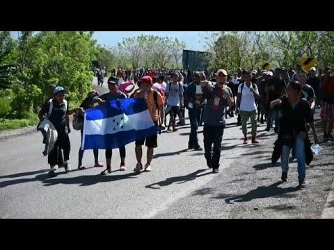 Ονδούρα: Νέο καραβάνι μεταναστών προς τις ΗΠΑ