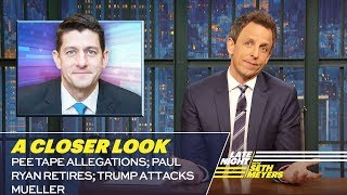 Video Pee Tape Allegations; Paul Ryan Retires; Trump Attacks Mueller: A Closer Look MP3, 3GP, MP4, WEBM, AVI, FLV April 2018