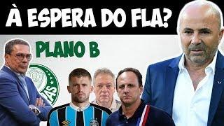 Palmeiras vê Sampaoli esperando pelo Fla / Reunião com Luxa / Caio Henrique no Grêmio / Abel / Ceni