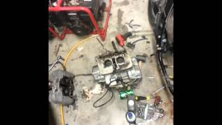 2. Honda Rebel CMX250c  Engine Rebuild top end