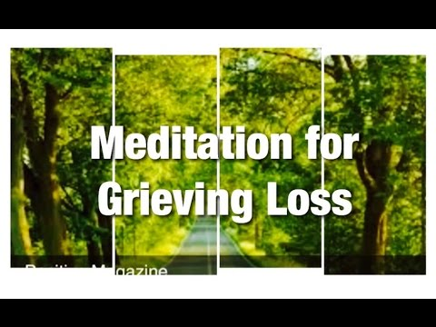 how to relieve grief