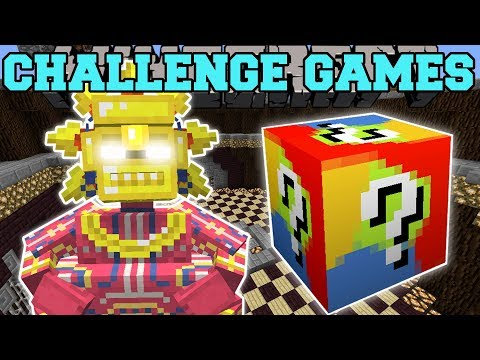 Minecraft: FATTEST BOSS CHALLENGE GAMES - Lucky Block Mod - Modded Mini-Game (видео)