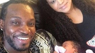 Chris Gayle Wife and Family Rare and Unseen Images