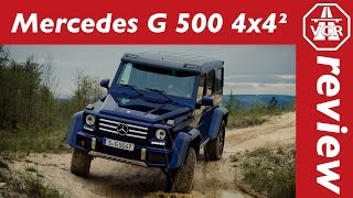2016 Mercedes-Benz G 500 4x4² - In-Depth Review, Full Test, Test Drive by Video Car Review