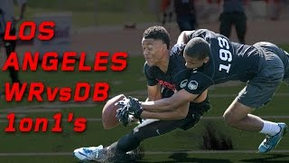 Los Angeles WR vs DB 1 on 1's | Nike Football's The Opening Regionals