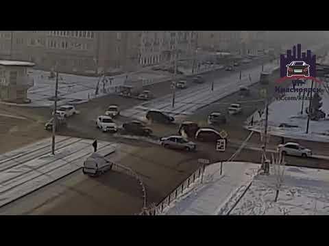 Красноярский рабочий - Сибирский переулок 04.01.2018