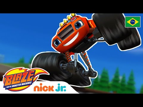 O bandido misterioso ☠️| Blaze and the Monster Machines
