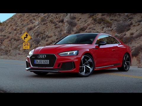 nuova audi rs5 coupè 2017 - sound 0-100 km/h!