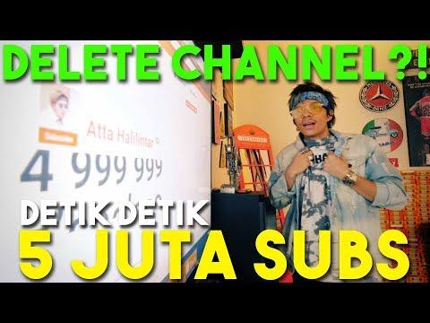 Download Video 5 Juta SUBS! Thank u GOD, Thank U ATEAM, Thank u Orang Orang tersayang