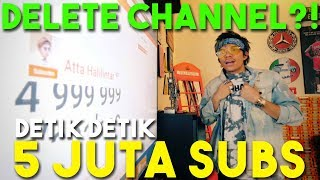 Video 5 Juta SUBS! Thank u GOD, Thank U ATEAM, Thank u Orang Orang tersayang MP3, 3GP, MP4, WEBM, AVI, FLV September 2018