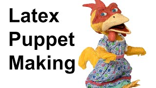 Stop Motion Tutorial:  Latex Puppet Making
